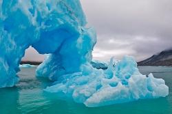Eisbergdurchfahrt